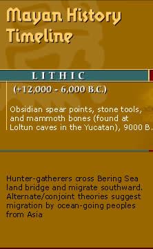 Mayan history home page